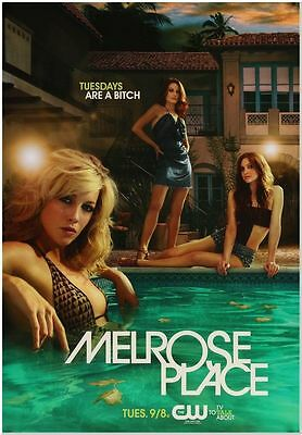 MELROSE PLACE - 2009 - Original 24x36 rolled TV Promo Poster #1 - KATIE CASSIDY