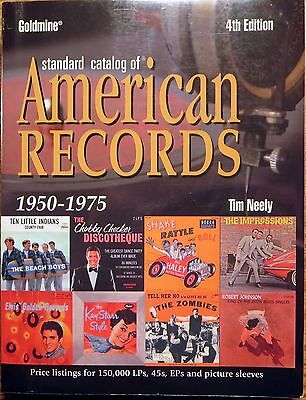 2004 Goldmine Standard Catalog of American Records 1950-1975 NEELY 4th Edition