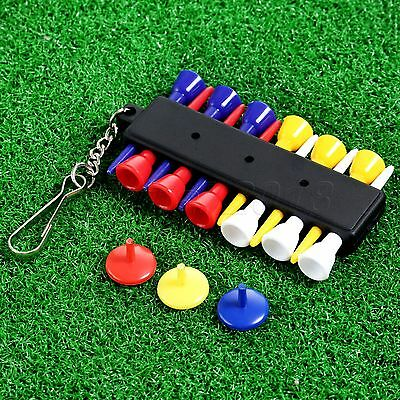 Rubber Golf Ball Tee Golf Tees Holder Indispensable Accessory Gift