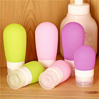 Quality Silicone Travel Packaging Press Bottle Bath Shampoo Container CA