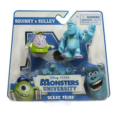 Monsters University Scare Pairs - Sulley and Squishy Action Figures 20057871 New