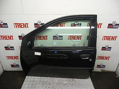 2006 FIAT PUNTO 3 Door Hatchback Black N/S Passengers Left Front Door