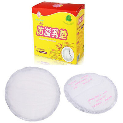 100x Disposable Breast Pads Nursing Cover Baby Breastfeeding Pads Maternity