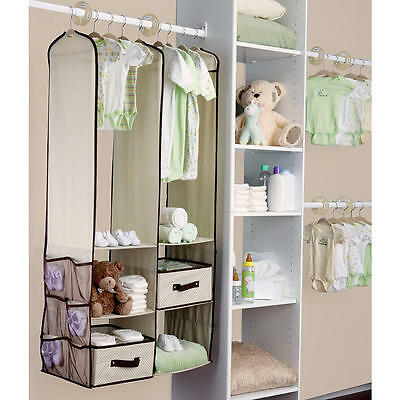 Delta Children 24 Piece Nursery Storage Set - Beige