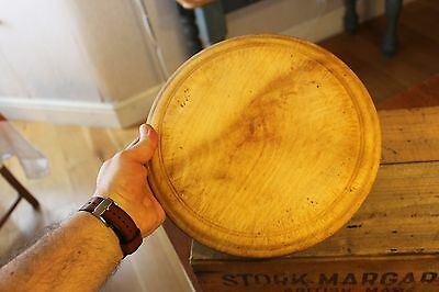 Vintage Nice Traditional Plain Wooden Bread Board – Kitchenalia – Great! –