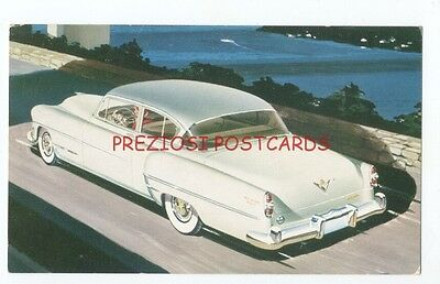1954 CHRYSLER NEW YORKER Deluxe Club Coupe - Original Ad Postcard