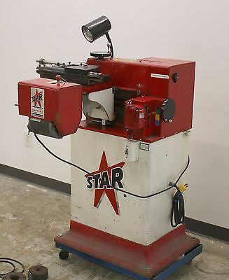 Star Machine Tool Model 1960 Disc and Drum Brake Lathe w/ Stand & Adapters