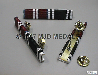 Diamond Jubilee + Ambulance Service Long Service Medal Ribbon Bar