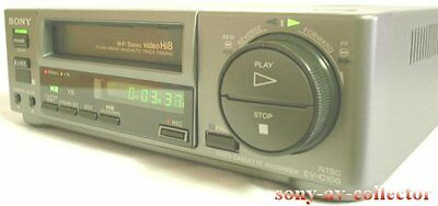 Sony EV-C100 Hi8 Video8 8mm Video 8 Player Recorder VCR Deck EX EVC-100