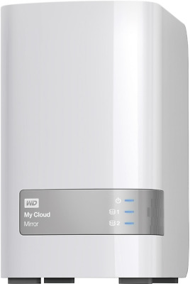 NAS-Server 4 TB Western Digital My Cloud Mirror WDBZVM0040JWT-EESN RAID-fähig