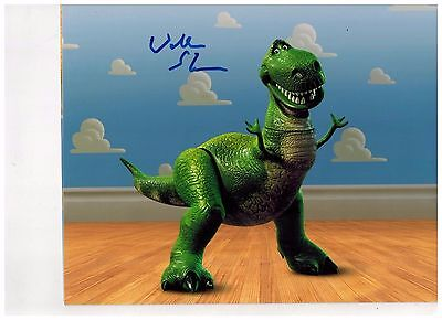 WALLACE SHAWN-ACTOR (VOICE OF REX  TOY STORY)-signed  Photo 8x10 FREE SHIPPING!!