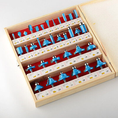 ATE Tools 35 Pcs Tungsten Carbide Router Bit Set Woodworking Wood Carpentry