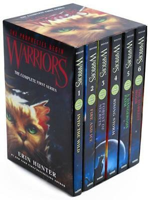 NEW Warriors Box Set By Erin Hunter Paperback Free Shipping