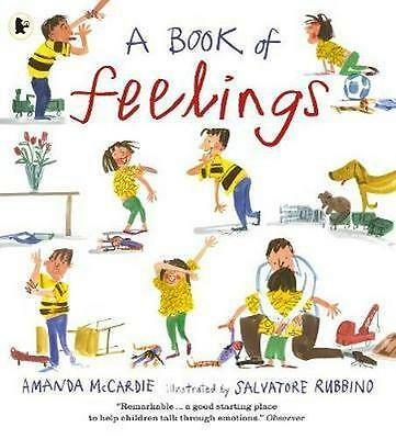 NEW A Book of Feelings By Amanda McCardie Paperback Free Shipping