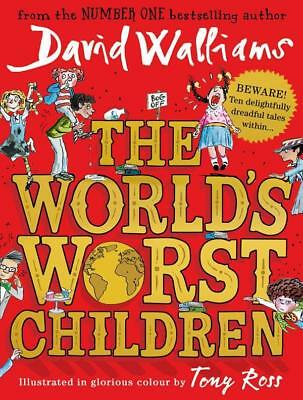 NEW The World's Worst Children By David Walliams Paperback Free Shipping