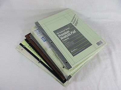 LOT Columnar Pad 6 4 2 Column Analysis Sheets Employee Record Engineering Forms