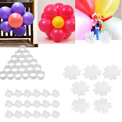 Balloon Arch Stand Pole Kit Clips Connecter Adjustable Wedding Birthday Decor