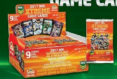 2017 NRL ESP Xtreme Game card common set of 160 cards & official album