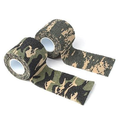10X 4.5M Camo Duct Waterproof Tape Camouflage for Gun Rifle Hunting Stealth Wrap