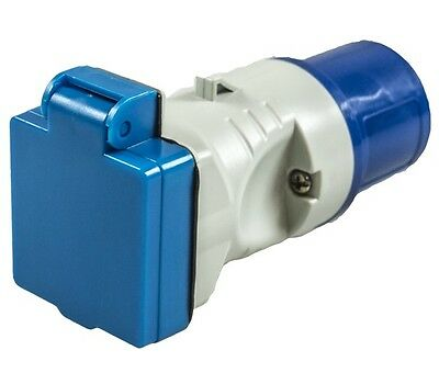 16A Plug to UK Socket Adaptor MP3758 MAYPOLE
