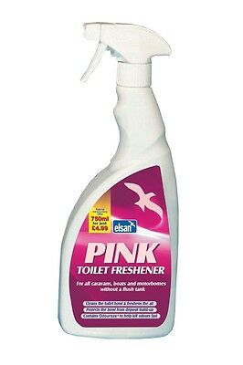 Pink Toilet Freshener - 750ml PIN750 ELSAN