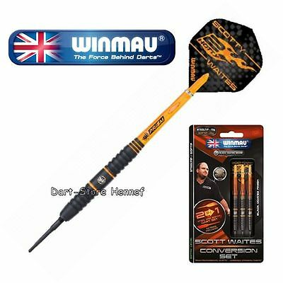 "1734 SCOTT WAITES Winmau Soft- und Steeldarts ""Conversion Set"", 19/20g"