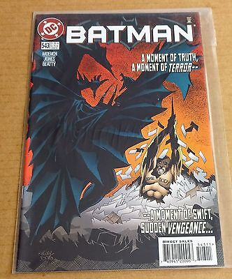 Dc Comics Batman #543  New/unread High Grade Nm  June 1997   Free P/p