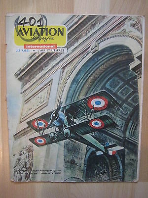 AVIATION MAGAZINE n° 401 - AERONAUTIQUE & 1ere GUERRE MONDIALE - PIPER CHEROKEE