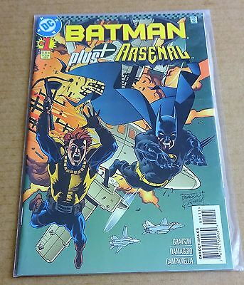 Dc Comics Batman + Arsenal #1  New/unread High Grade Nm 1997  Free P/p