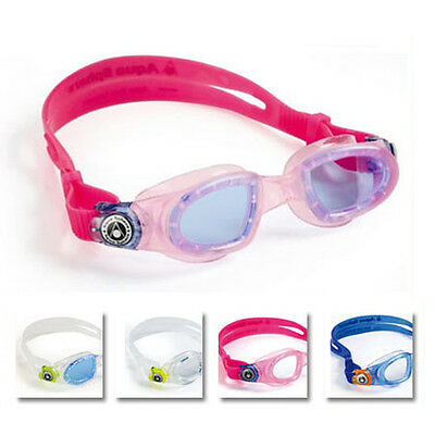 Aqua Sphere Moby Kid Youth Swimming Goggles And Masks - Childrens Swim Goggles