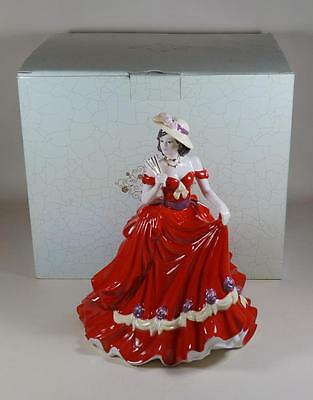 Coalport Classic Elegance Figure Figurine Anniversary Wishes in Original Box
