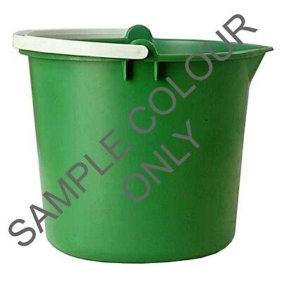 Light Duty Plastic Bucket - 10 Litre 135965 CLEENOL