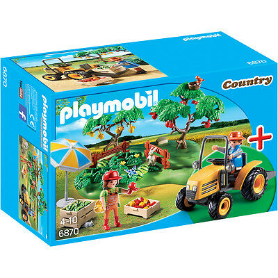 Playmobil Country Orchard Harvest 6870 NEW