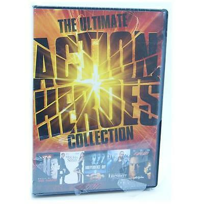 Ultimate Action Heroes Collection Die Hard and 4 more DVD Region 2 NEW SEALED