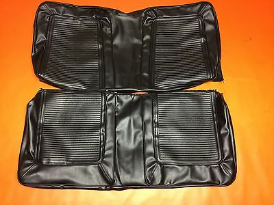 Plymouth Barracuda Seat Covers Fastback Rear Cover Upholstery 1964 1964 SS GT