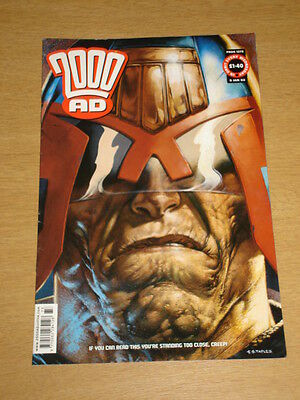2000Ad #1273 British Weekly Comic Judge Dredd Jan 2002 *