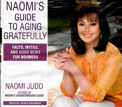 Naomi's Guide to Aging Gratefully Facts Myths + Good News for CD NEW FREE S/H US
