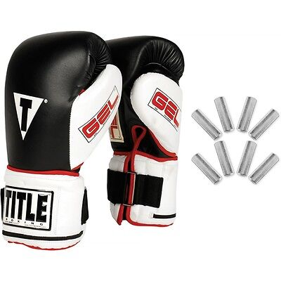 TITLE Boxing Gel Power Weighted Super Bag Gloves