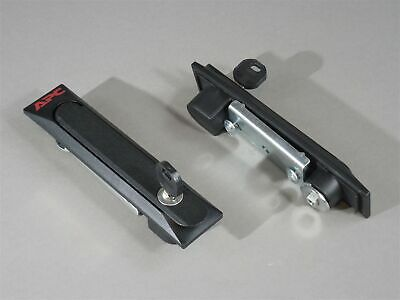 LOT of 2 APC Server Rack Handle Security Lock and Key 840-0206