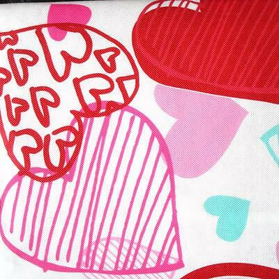 Valentine S Day Vinyl Tablecloth Flannel Backing All Sizes New