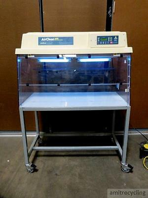 AirClean 600 PCR Workstation AC648LFUVC w/ Ductless Chemical Fume Hood