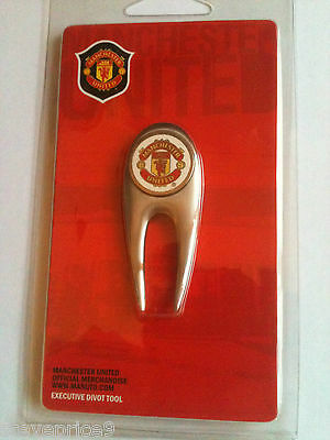 Manchester United Fc Eco3 Divot Tool And Golf Ball Marker.