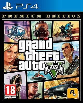 New Sealed Grand Theft Auto V ( GTA 5) Game PS4 (Sony PlayStation 4, 2014) UK