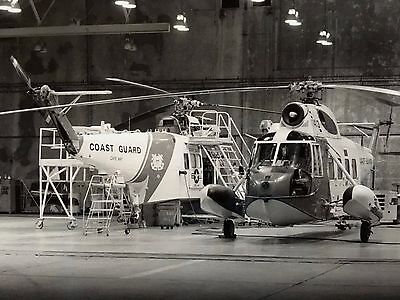 Sikorsky HH-52A Seaguard Helicopter US Coast Guard Air Station Cape May NJ PHOTO