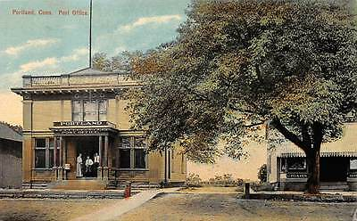 PORTLAND, CT ~ POST OFFICE ~ HUGH C. LEIGHTON. PUB ~ c. 1910s