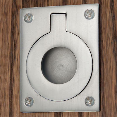 Signature Hardware Rectangular Recessed Ring Pull