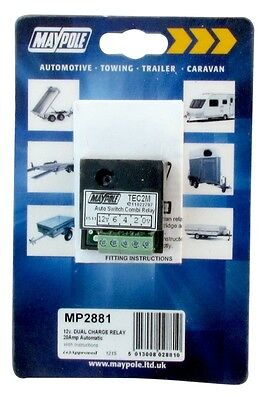 Automatic Dual Charge Relay - 15A 2881 MAYPOLE