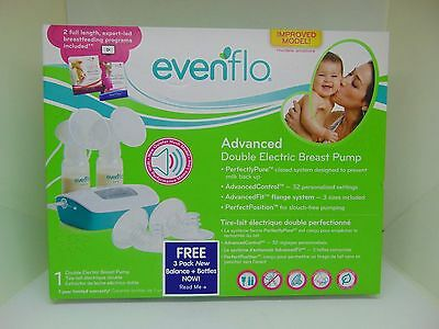 Evenflo Feeding Advanced Double Electric Breast Pump NEW