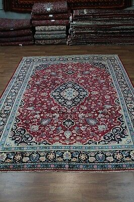 Beautiful Handmade Semi Antique Kashmar Persian Rug Oriental Area Carpet 10X12
