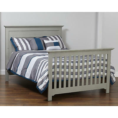 Baby Cache Chesapeake Full Size Bed Conversion Kit - Light Grey